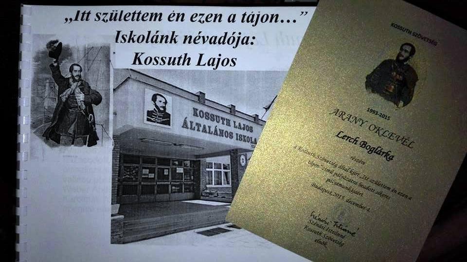 Kossuth Szövetség pályázat